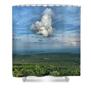 Mother Natures Naughty Toy Shower Curtain