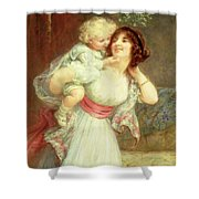 Mothers Darling Shower Curtain