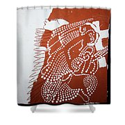 Mothers Prayer Shower Curtain by Gloria Ssali