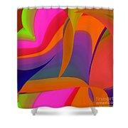 Motility Shower Curtain