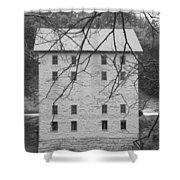 Motor Mill Bw3 Shower Curtain