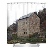 Motor Mill Shower Curtain