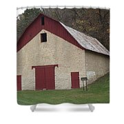 Motor Mill Livery Shower Curtain