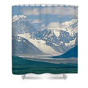 Mount Deborah And Hess Mountain Shower Curtain