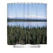 Mount Drum, Sanford And Wrangell Shower Curtain