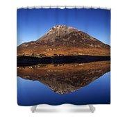Mount Errigal, Lough Nacung, Dunlewy Shower Curtain