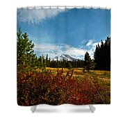 Mount Hood Oregon Shower Curtain