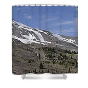Mount Hood Pano Shower Curtain