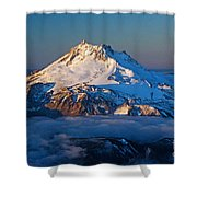 Mount Jefferson Shower Curtain