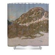Mount Kolsaas In Sunlight Shower Curtain