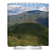 Mount Lafayette From The Kinsman Trail Shower Curtain