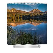 Mount Lassen Reflecting 2 Shower Curtain