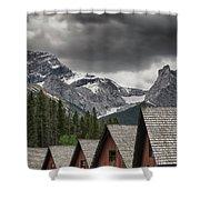 Mount Lougheed Shower Curtain