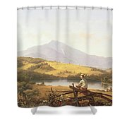 Mount Mansfield Shower Curtain
