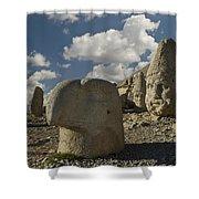 Mount Nemrut Shower Curtain