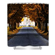 Mount Pleasant Mansion - Philadelphia Shower Curtain