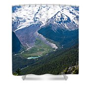 Mount Rainier Xi Shower Curtain