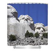 Mount Rushmore National Memorial, South Shower Curtain