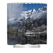 Mount Siguniang Is An Area Shower Curtain