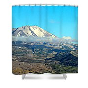 Mount St Helens And Castle Lake Shower Curtain