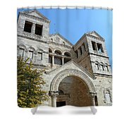 Mount Tabor Shower Curtain