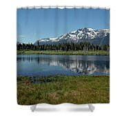 Mount Tallac View Of The Cross Shower Curtain