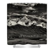 Mountain Canmore Shower Curtain