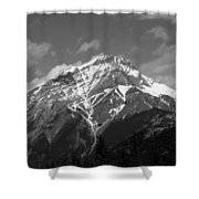 Mountain Cascade Shower Curtain