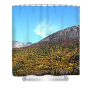 Mountain Colors Shower Curtain