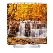 Mountain Creek Falls Shower Curtain