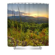 Mountain Evening Shower Curtain