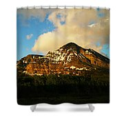 Mountain In The Morning Shower Curtain