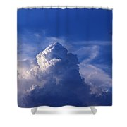 Mountain In The Sky Shower Curtain