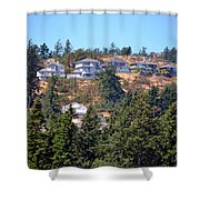 Mountain Life Shower Curtain
