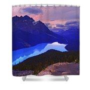 Mountain Scenery Shower Curtain