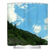 Mountain Side Shower Curtain