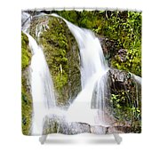 Mountain Spring 3 Shower Curtain