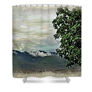 Mountain Time Shower Curtain