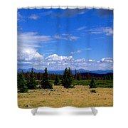 Mountain Top Landscape II Shower Curtain