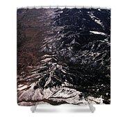 Mountainous Shower Curtain