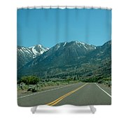 Mountains Ahead Shower Curtain