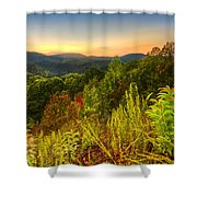 Mountainside Shower Curtain