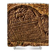 Mountfort - Granary Burying Ground - Greeting Card Shower Curtain
