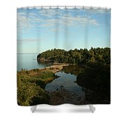 Mouth Of Beaver River Shower Curtain