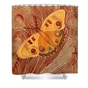 Movement Butterfly Shower Curtain