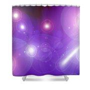 Moveonart Babyinthestars Shower Curtain