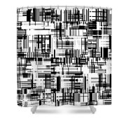 Moveonart Barcoded Shower Curtain