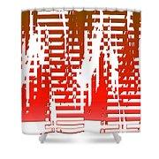 Moveonart Builtfordestruction Shower Curtain