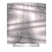 Moveonart Clearthoughtswaveform Shower Curtain