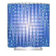 Moveonart Doexpressblue Shower Curtain